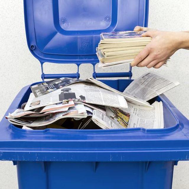 GSAK Abfall Papier