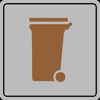 GSAK Abfall braune Tonne Bioabfall