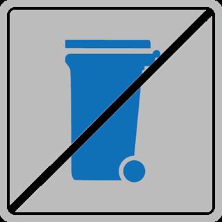 GSAK Abfall blaue Tonne Papier