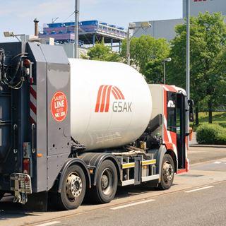 GSAK Entsorgungsfahrzeug Krefeld