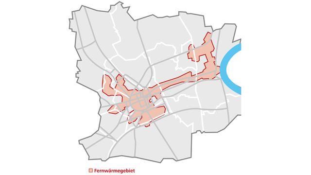 SWK Fernwärmenetz Krefeld